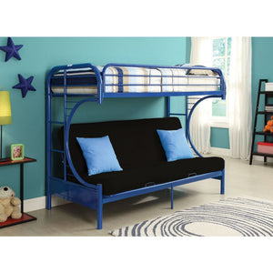 Eclipse Twin/Full/Futon Bunk Bed (Navy)