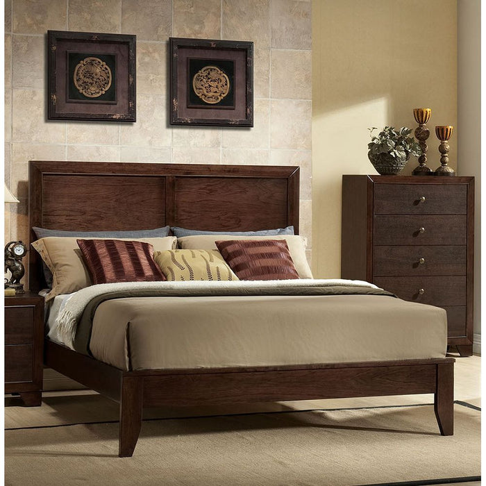 Madison Queen Bed (Espresso)