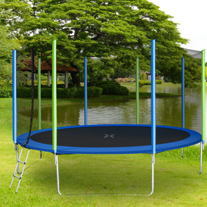 Oliver 14FT Trampoline for Kids with Safety Enclosure Net