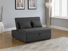 Load image into Gallery viewer, Lance Sofa Bed In Grey