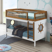 Load image into Gallery viewer, Farah Twin/Twin Bunk Bed