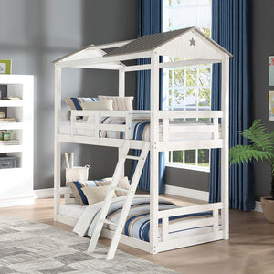 Nadine Cottage Twin over Twin Bunk Bed