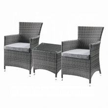 Load image into Gallery viewer, Tashelle 3Pc Patio Bistro Set