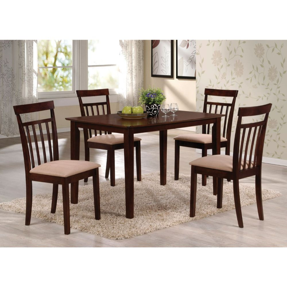 Samuel 5pc Espresso Dining Set