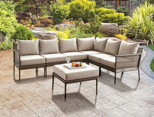 Aleisha Outdoor Sectional Set