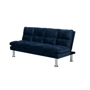 Saratoga Navy Blue Futon Sofa Bed