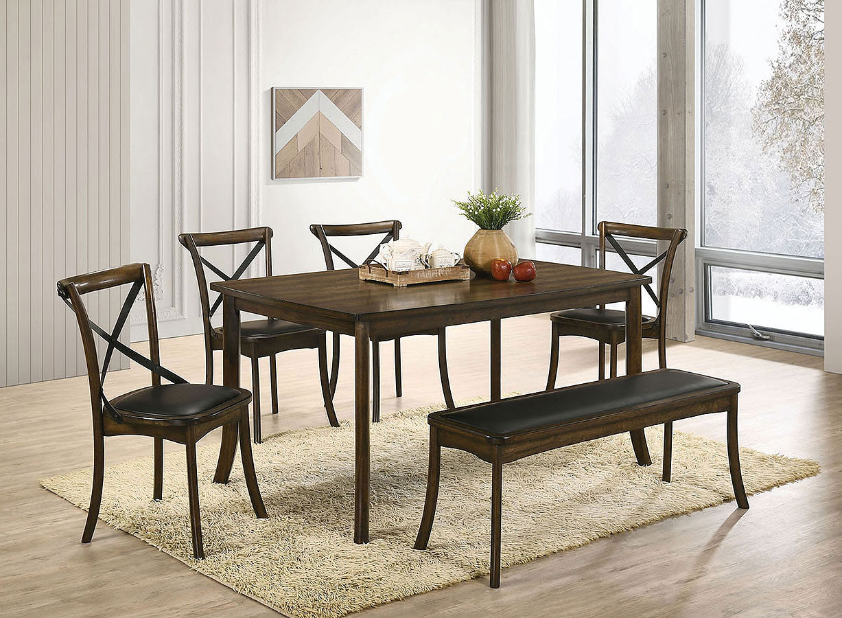 Buhl Dining Room Set With Bench