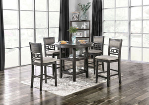 Milly 5-Piece Counter Height Dining Set