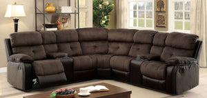 Hadley Sectional (Brown)