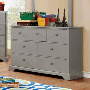 Diane Youth Bedroom Collection (Grey)