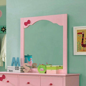Marlee Youth Bookcase Bedroom Set (Pink)