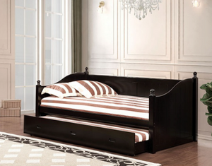 Walcott Black Daybed With Trundle