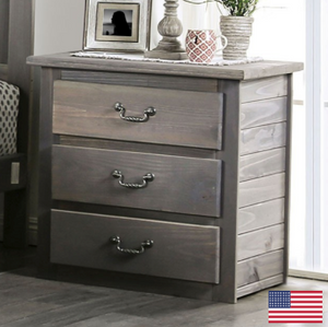 Rockwall Grey Nightstand