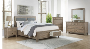 Anneke Wood Bedroom Collection