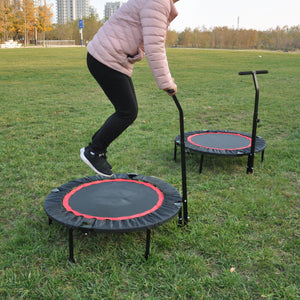 Lucas 40 Inch Mini Exercise Trampoline for Adults or Kids