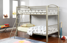 Load image into Gallery viewer, Lovia Twin / Twin Bunk Bed in Gold