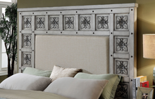Load image into Gallery viewer, Pantaleon Antique Grey Bed