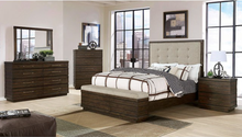 Load image into Gallery viewer, Maggie Dark Walnut Bedroom Collection