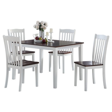 Load image into Gallery viewer, Leigh Walnut 5pc Dining Set
