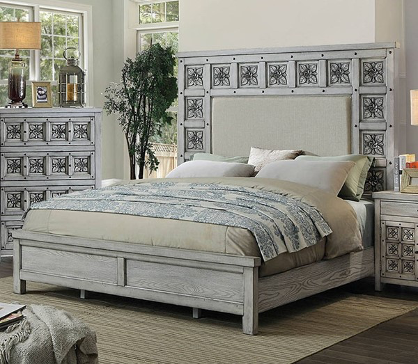 Pantaleon Antique Grey Bed