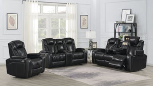 Bismark Living Room Collection (Black)