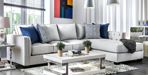 Ornella Light Grey Sectional