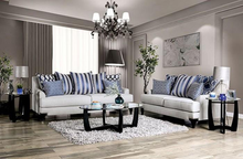 Load image into Gallery viewer, Sisseton Gray Chenille Finish Sofa and Loveseat
