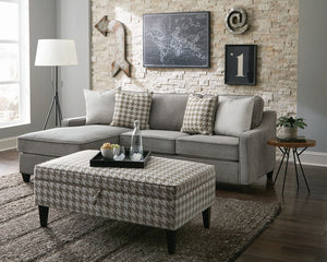 Mcloughlin Sectional (Grey)
