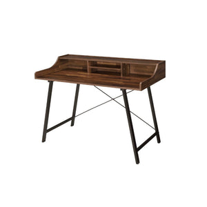 Sange Walnut and Black Desk