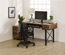 Load image into Gallery viewer, Jane Weathered Oak Desk
