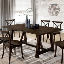 Load image into Gallery viewer, Saige 7pc Brushed Oak Dining Set