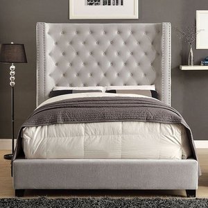 Mirabelle Contemporary Ivory Bed