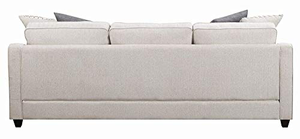 Mcloughlin Reversible Upholstered Sectional In Cream