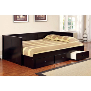 Wolford Full Daybed With Storage Drawers In Black