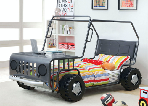 Trekker Metal Twin Bed