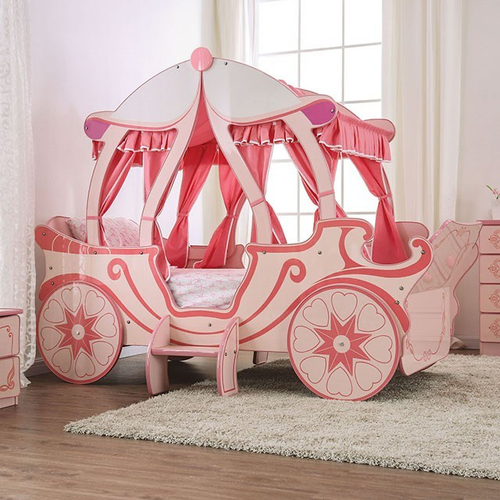 Arianna Princess Carriage Twin Bed