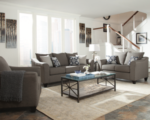 Salizar Living Room Collection (Grey)