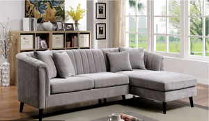 Goodwick Mid Century Sectional (Grey)