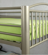 Load image into Gallery viewer, Lovia Full / Full Bunk Bed In Gold