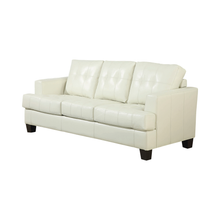 Load image into Gallery viewer, Samuel Upholstered Sleeper Sofa in Cream