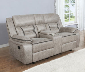 Greer Living Room Collection (Grey)