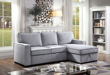 Load image into Gallery viewer, Ines Sleeper Sectional in Grey