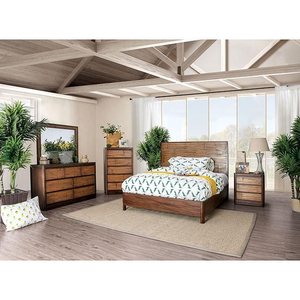Covilha Antique Brown Bed