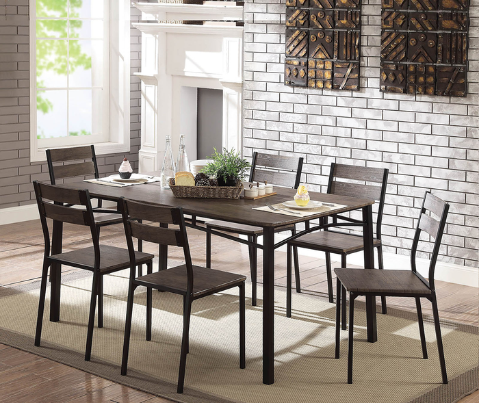 Westport Wooden 7PC Dining Set