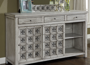 Pantaleon Antique Grey Bedroom Collection