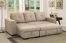 Load image into Gallery viewer, Denton Sleeper Sectional In Ivory