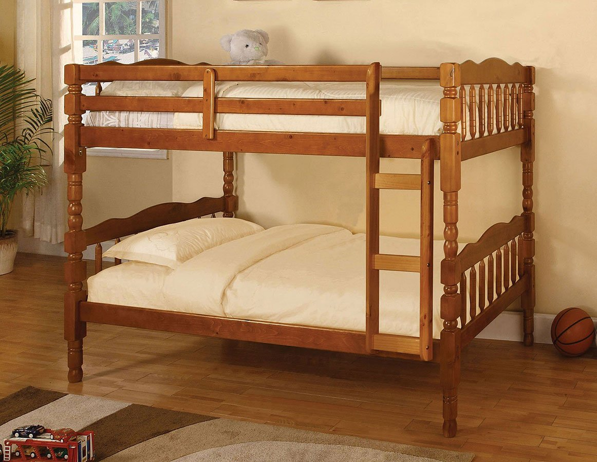 Catalina Twin over Twin Bunk Bed (Oak)