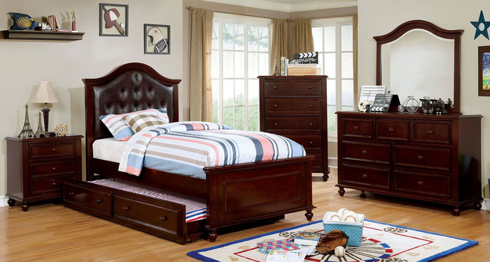 Olivia Walnut Youth Bedroom Collection