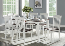 Load image into Gallery viewer, Leigh Walnut 7 pc Dining Set