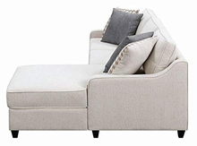 Load image into Gallery viewer, Mcloughlin Reversible Upholstered Sectional In Cream